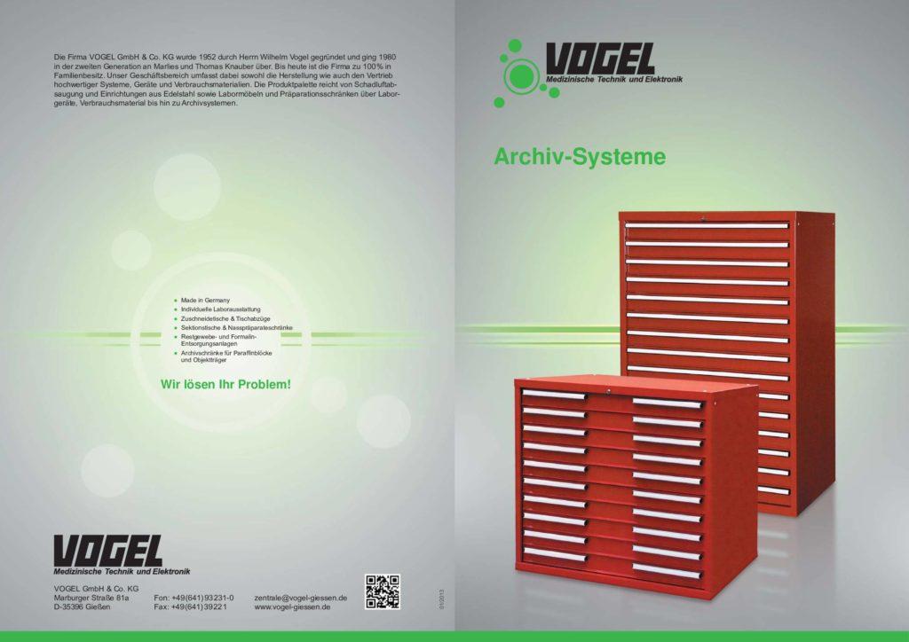Broschüre Archivierungssysteme