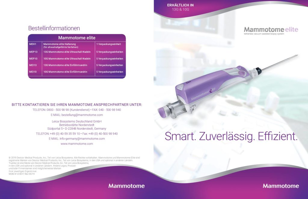 Folder Mammotome® elite