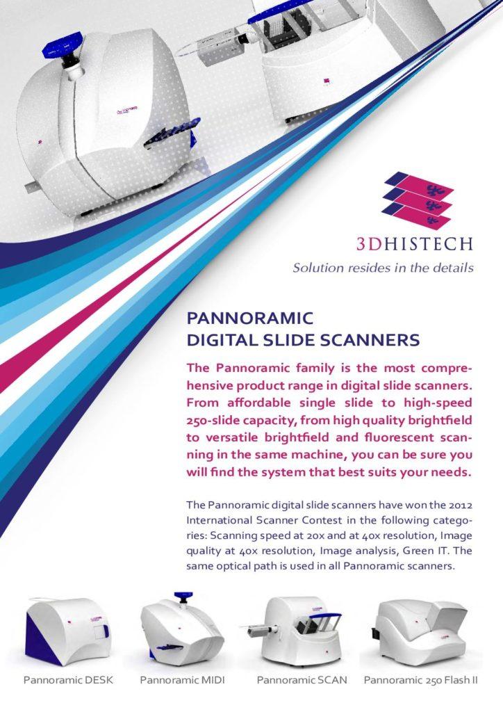 Broschüre 3DHistech Scannertypen