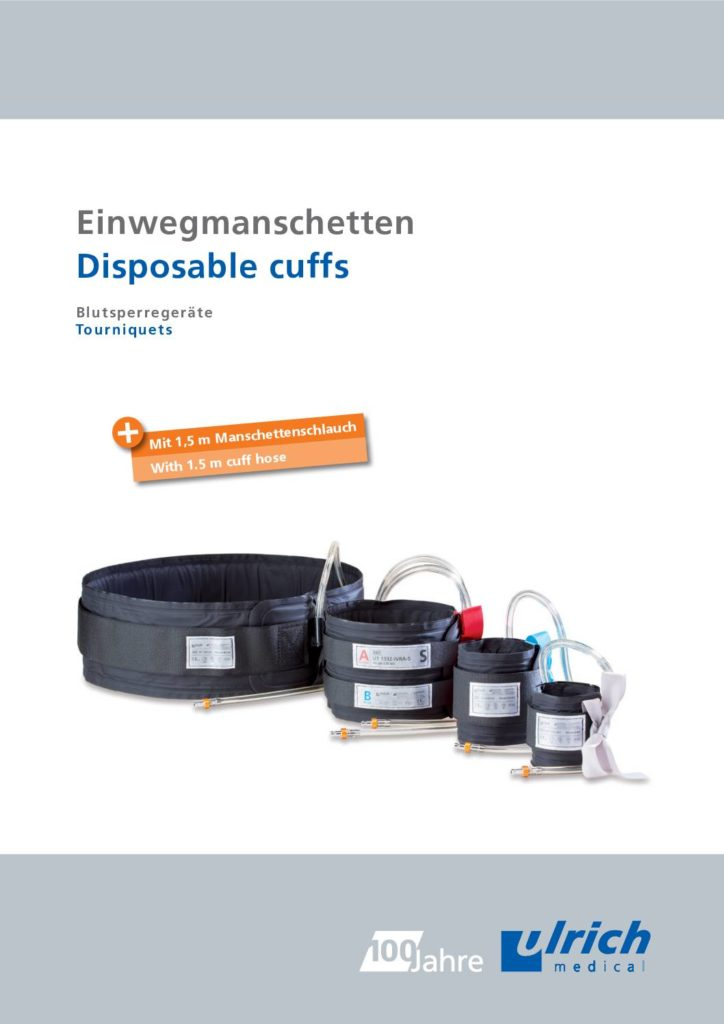 Download Folder Einwegmanschetten