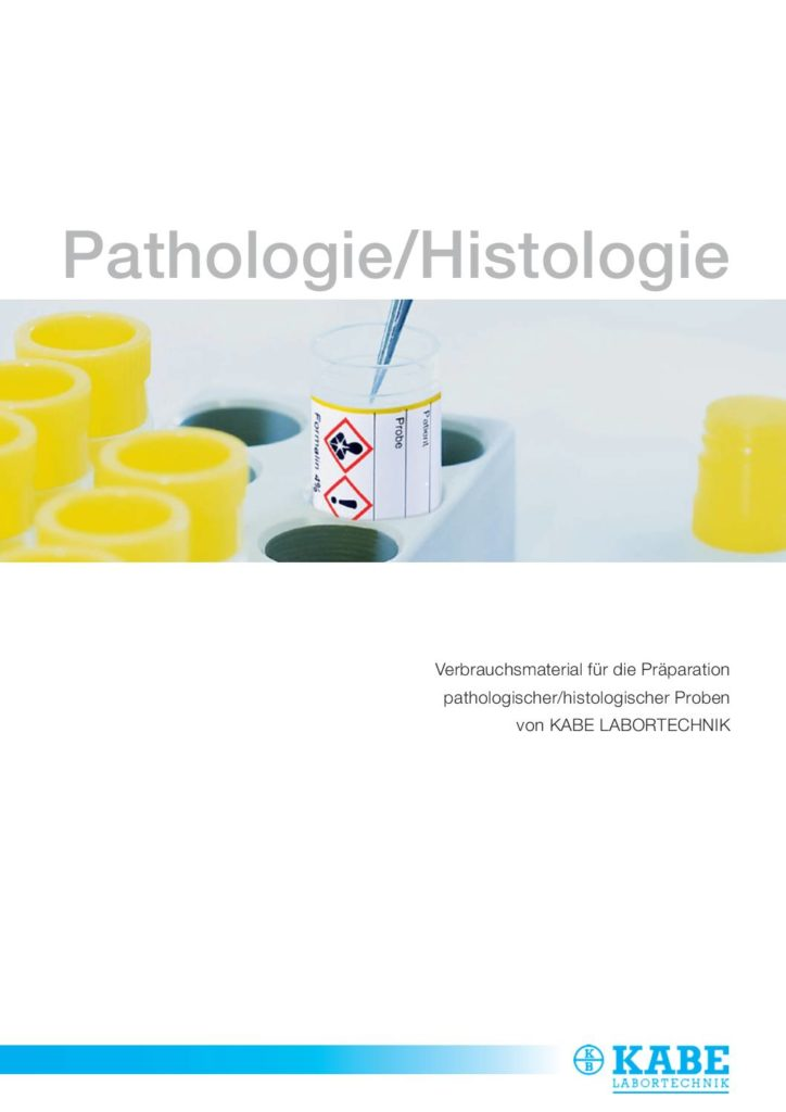 Broschüre Histologielaborbedarf