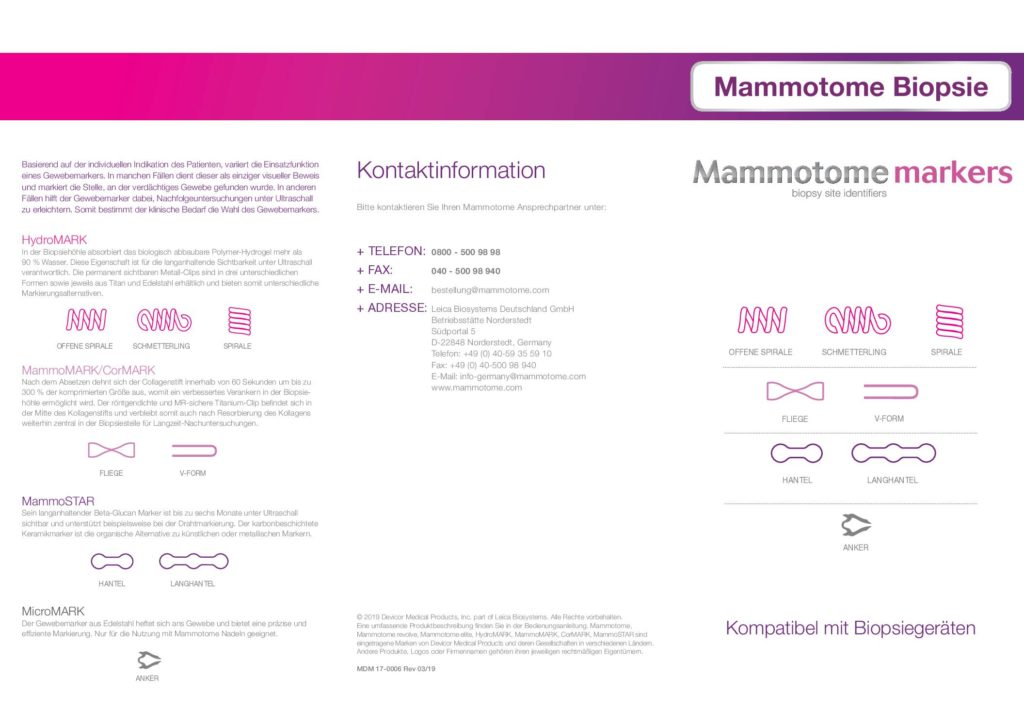 Mammotome<sup>®</sup> Marker
