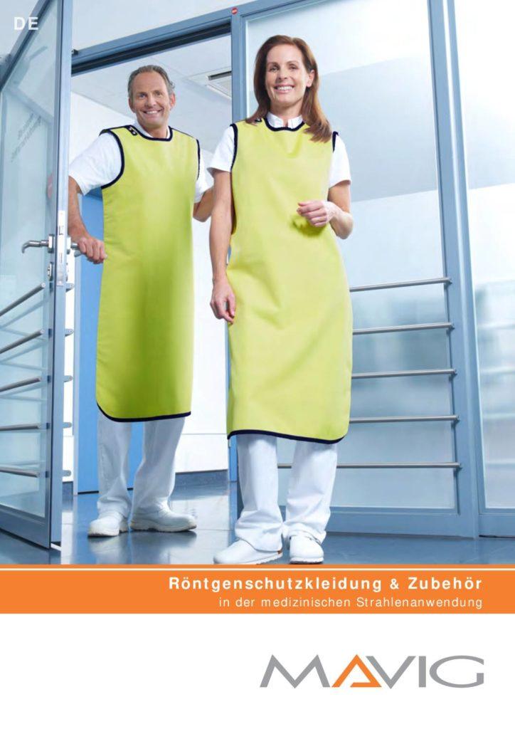 Download Folder Röntgenschutzbekleidung und Zubehör