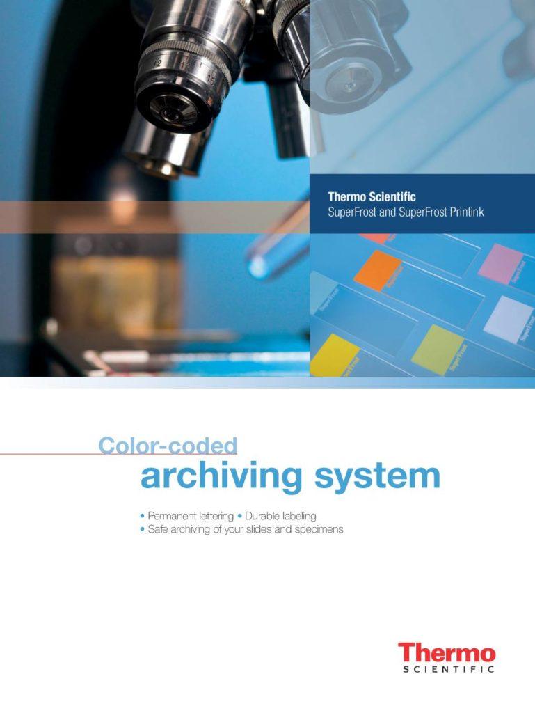 Broschüre Thermo Scientific Objektträger