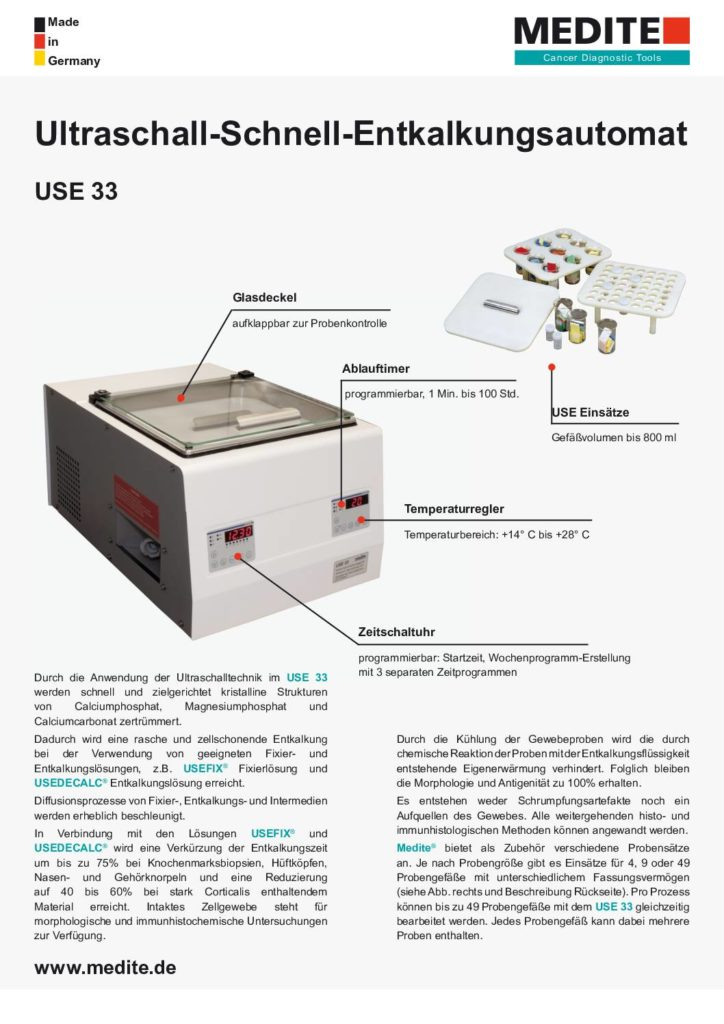 Broschüre Histolab Clear