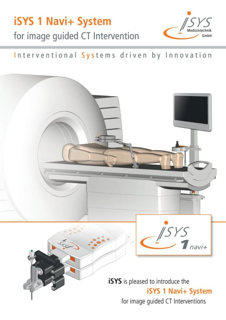 isys2 Navi + System for image guided CT intervention