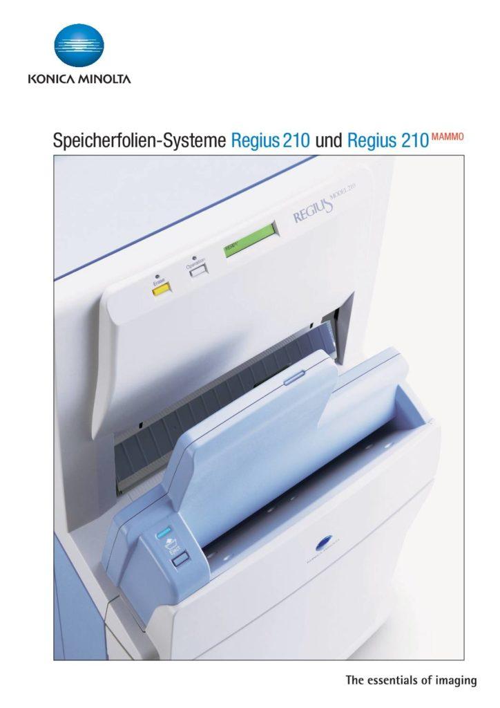 Folder Regius 210/210 Mammo
