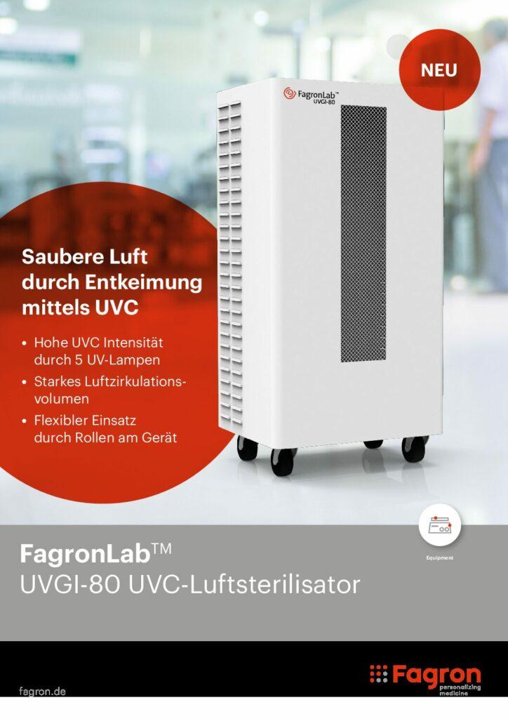 UVC-Luftsterilisator